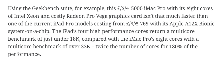 Macs may need ARM processors to survive