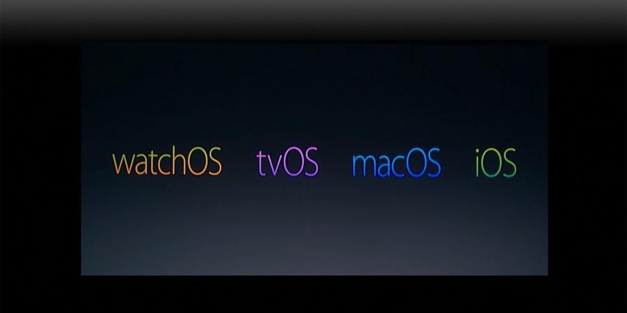 Aktualizacje systemów Apple
