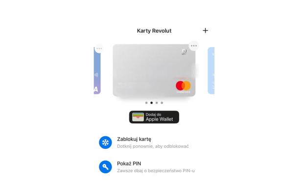 Apple Pay w Revolut dostępne oficjalnie wprost z aplikacji