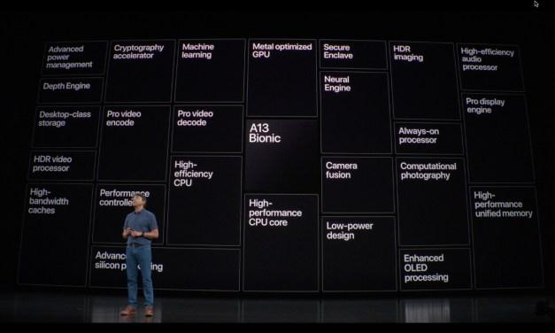 A13 kolejny niedościgniony procesor Apple