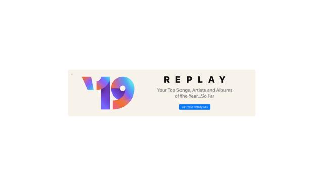 Replay: Twoja własna lista przebojów w Apple Music