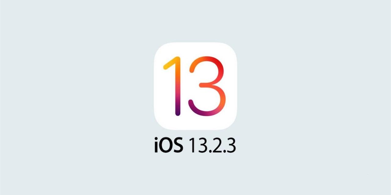 Aktualizacja iOS 13.2.3