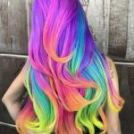 Dúhová farba na vlasy