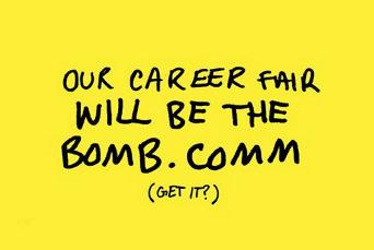 strat comm career fair picture