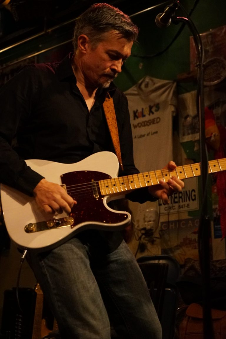 Mike and his Tele