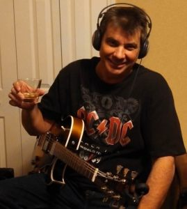 Dave Gillespie recording the Whiskey Song