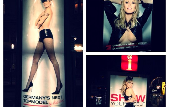 Heidi Klum shows herself - Stuttgarts Stauindikator # 1!?
