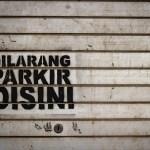 jangan parkir