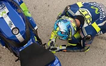 MotoGP Andalusia Kembalinya Rossi ke Podium dan Quartararo yang Tak Tersentuh MOJOK.CO