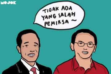 Jokowi, Ahok, dan Kloset yang Ditukar