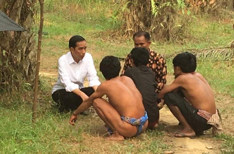 Sekali Lagi, Reaksi atas Pertemuan Jokowi dengan Orang Rimba