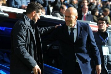 Percakapan Rahasia Zidane dan Simeone Jelang Final Liga Champions