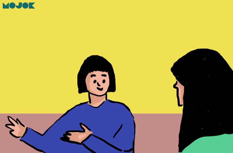 11 Tipe Orang yang Tidak Asyik Diajak Ngobrol MOJOK.CO