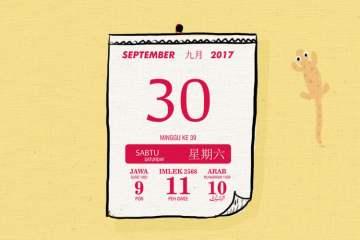 170930 ESAI 30 September Sebaiknya Libur