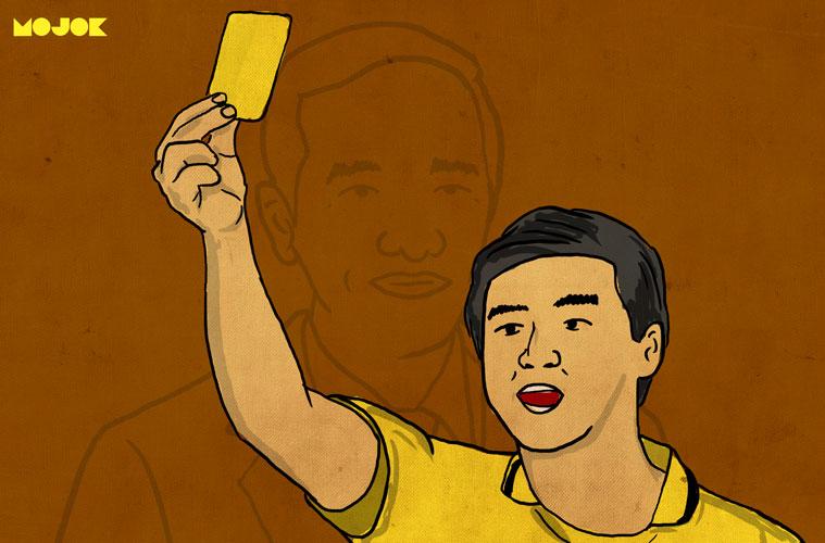 Hasil gambar untuk kartu kuning jokowi
