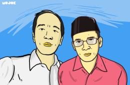 Jokowi dan tuan guru bajang