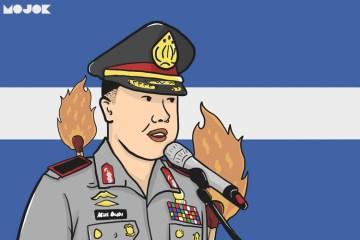 Kapolda Jabar jelaskan kronologi pembakaran bendera tauhid MOJOK.CO