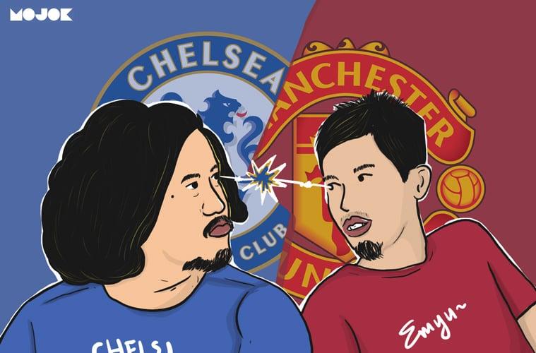 Chelsea vs Manchester United MOJOK.CO