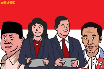 Prabowo Jokowi debat capres MOJOK.CO