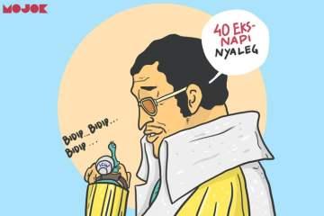 40 caleg mantan koruptor