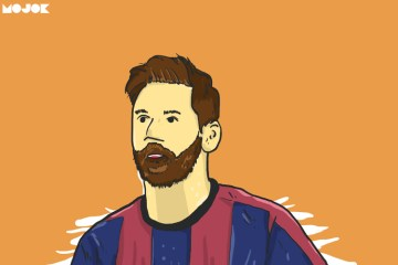 Lionel Messi MOJOK.CO