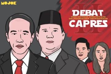 Debat capres kedua Jokowi vs Prabowo MOJOK.CO