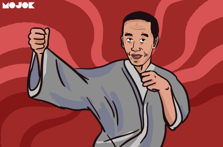 Jokowi Tai-Chi Master MOJOK.CO