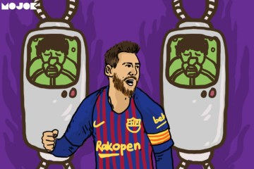 Lionel Messi kloning MOJOK.CO
