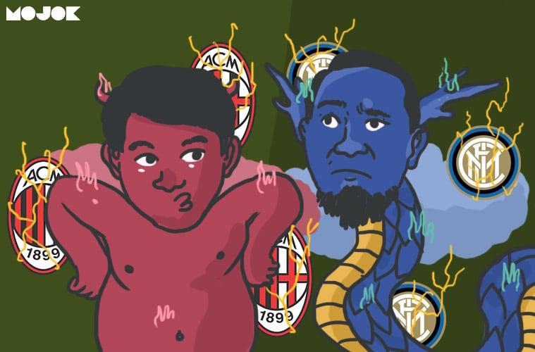 AC Milan vs Inter Milan MOJOK.CO