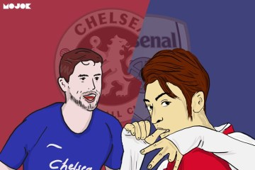 Chelsea vs Arsenal MOJOK.CO_