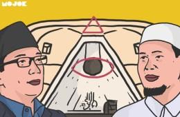 Nikmatnya Lihat Ridwan Kamil Repot Ladeni Teori Illuminati Modal Kliping Ustaz Baequni Rahmat - Mojok.co