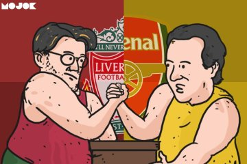 Liverpool vs Arsenal MOJOK.CO