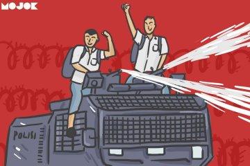 Gerakan Anak STM Diremehkan, Padahal Perjuangan Pelajar Sudah Ada Sejak Dulu MOJOK.CO