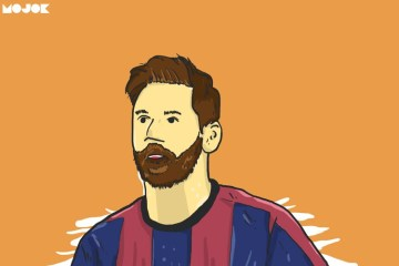 Lionel Messi Barcelona MOJOK.CO