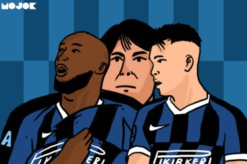 Inter Milan Punya Tridente dalam Nama Lukaku, Lautaro, dan Conte