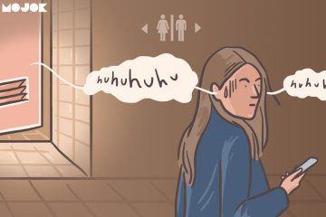 suara tangisan anak kecil dari kamar mandi ceruta hantu cerita horor cerita seram hantu anak kecil pacar mengancam bunuh diri