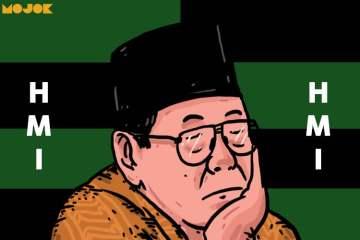 gus dur hmi connection kahmi hmi diponegoro mpo soeharto pemakzulan pelengseran virdika rizky utama kudeta penurunan akbar tandjung fuad bawazier mojok.co
