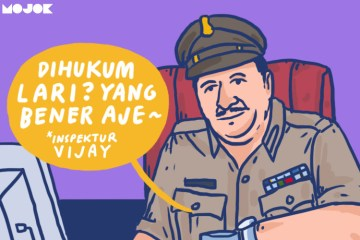 polisi perekam polwan mandi cuma dihukum lari keliling lapangan indisipliner pelecehan seksual mojok.co
