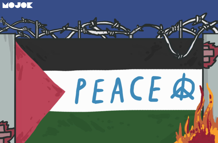 donald trump proposal perdamaian israel palestina deal of the century tepi barat west bank gaza mojok.co