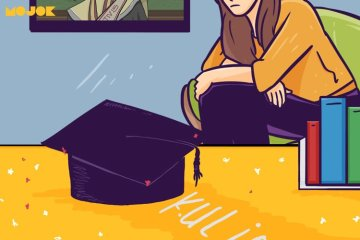 masa terbaik saat kuliah semester 4 semester 5 mahasiswa abadi mahasiswa bolos makna bolos dosen penguji dosen pembimbing skripsi wisuda main pantai perawan di malang mojok.co