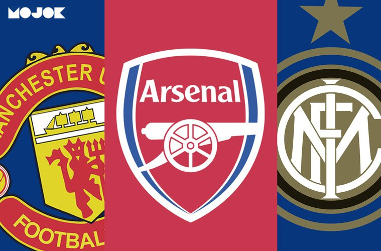 Manchester United Arsenal Inter Milan Liga Europa MOJOK.CO