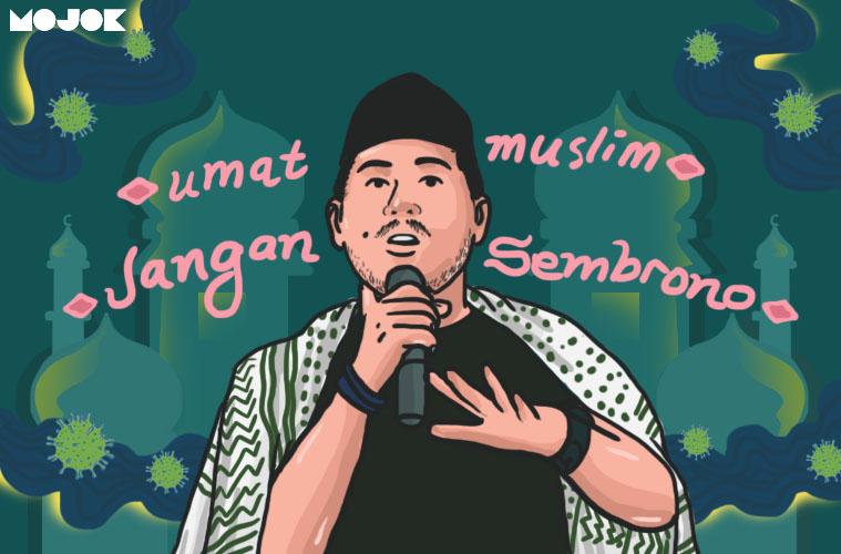 Sembrononya Muslim Indonesia Menghadapi Corona