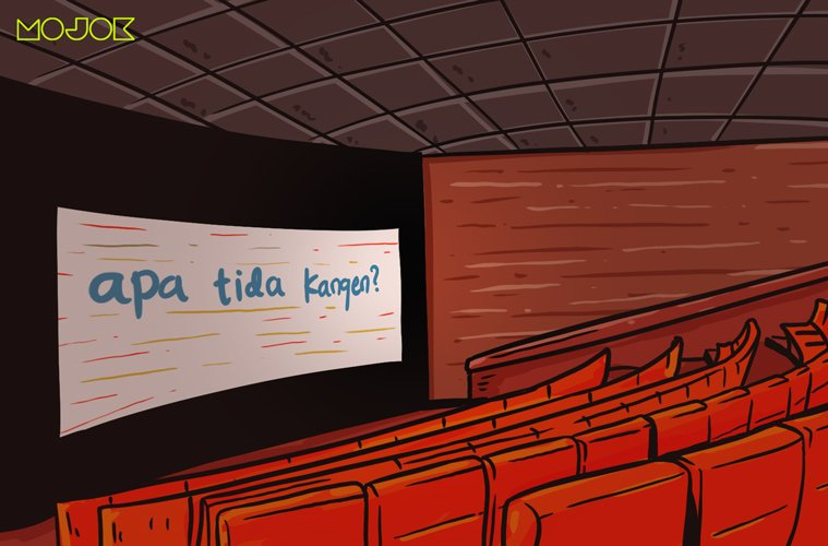 kangen nonton bioskop dibisikin all around you orang goblok di bioskop makanan XXI bioskop mahal bioskop new normal midnight cinema mas-mas pembajak bioskop mojok.co