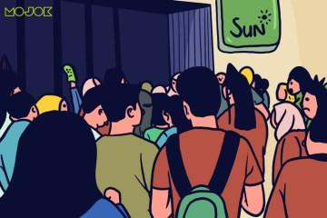 beli baju lebaran pas pandei kerumunan belanja di matahari roxy duta mode purwokerto protokol kesehatan masyarakat bebak kritik pemerintah sektor fashion mojok.co