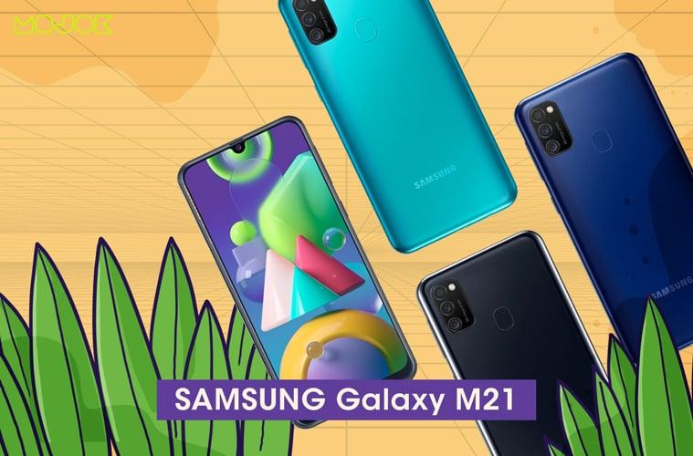 Samsung Galaxy M21 MOJOK.CO