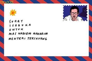 Surat Terbuka dari Guru untuk Mas Nadiem Makarim Menteri Tersayang