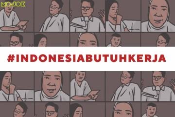 indonesiabutuhkerja ruu cipta kerja selebritis mendukung ruu cipta kerja mojok.co