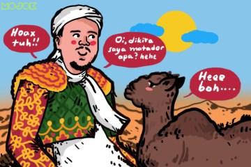 Agar FPI Tak Terlalu Muntab dengan Hoaks Habib Rizieq Tertabrak Unta