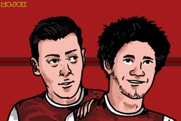 Arsenal di Antara Kesederhanaan Mo Elneny dan Imajinasi Mesut Ozil MOJOK.CO