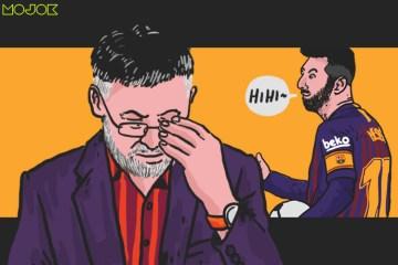 Fans Barcelona Memang 'Brengsek', Presiden Bartomeu Saja Bisa Lengser dan di Kejauhan Lionel Messi Tersenyum Masam MOJOK.CO